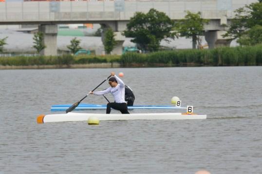 オリンピック代表選手選考会で優勝した當銘選手