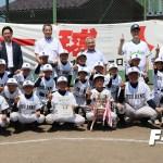 第9回東京ヤクルトスワローズカップ少年野球交流大会燕市予選会