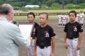 優勝した田上ベースボールクラブ