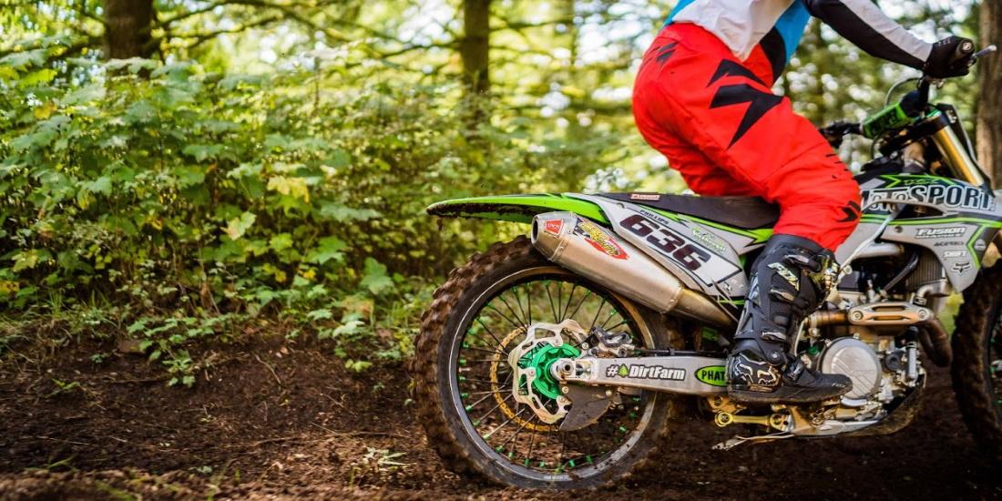make exhaust quieter on a dirt bike