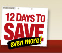 12 Days to Save Even More!