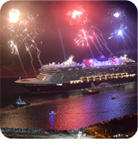 Disney Cruise Line Welcomes Disney Dream to Port Canaveral