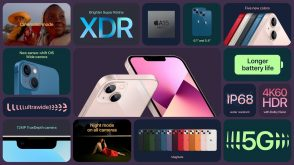Apple présente l'iPhone 13 : ce qu'il faut savoir
