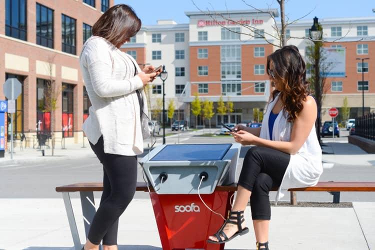 smart urban street furniture solutions