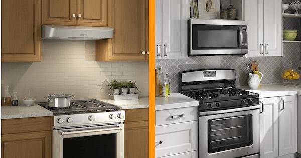 range hood vs over the range microwave
