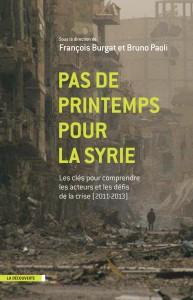 Couverture du livre Pas de Printemps pour la Syrie