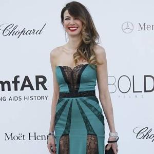 Luciana Gimenez no baile da amfAR (Fundação Americana de Pesquisa da Aids), em Cannes (24/5/12)