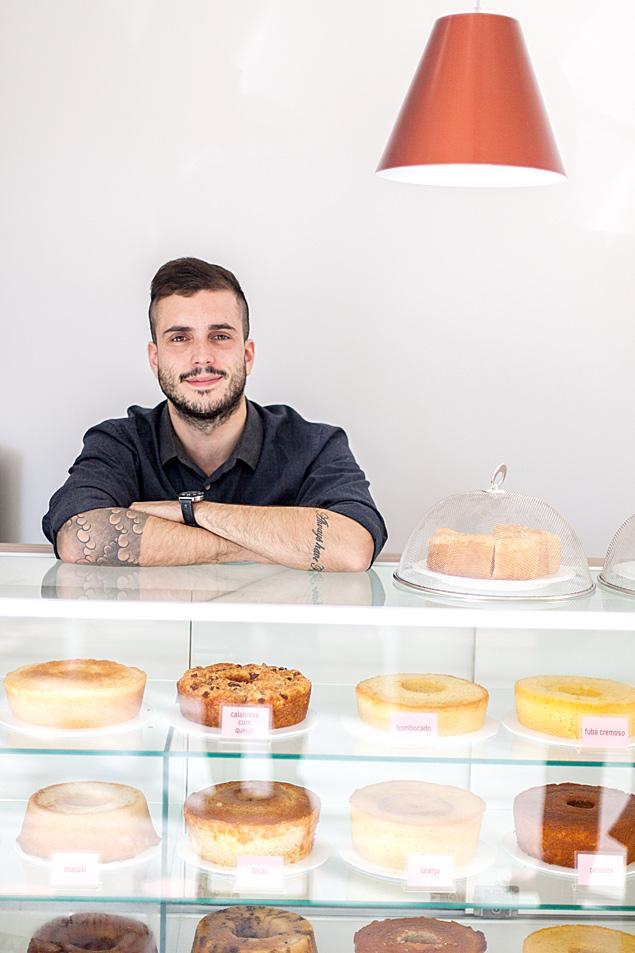 Bruno Queiroz viu declínio dos cupcakes e criou franquia de bolos caseiros