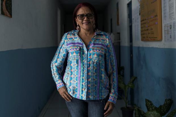 Socorro Almeida, 52, presidente-voluntária da Apac de Timon (MA)