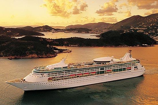 """O Vision of The Seas, palco da novela """"Máscaras"""", da Record"""