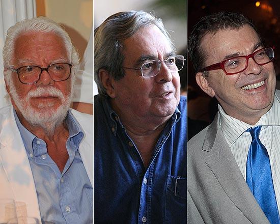 Manoel Carlos, Benedito Ruy Barbosa e Walcyr Carrasco tiveram contratos renovados com a Globo