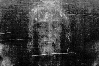 Imagem do Santo Sudário, que foi classificado como farsa por cientista italiano que reproduziu o tecido de linho