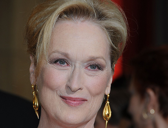 Meryl Streep na entrega do Oscar