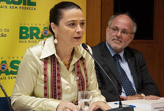 Soraya Soubhi Smaili em sua posse como reitora da Unifesp