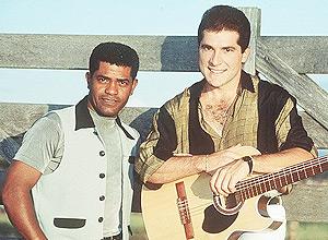 João Paulo e Daniel, poucas semanas antes do acidente