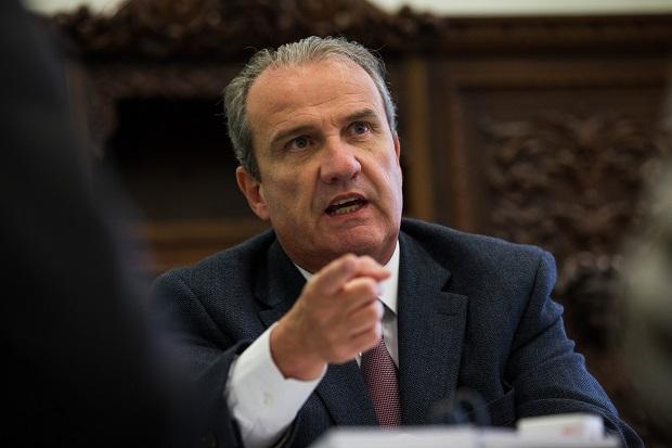 O novo secretário de Segurança Pública de São Paulo, Mágino Alves Barbosa Filho