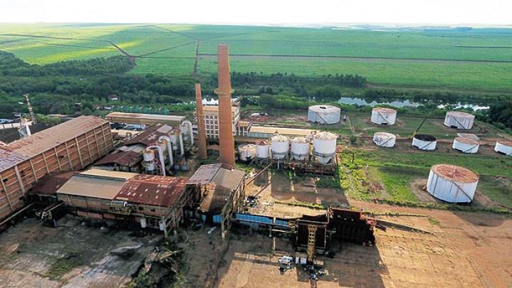 Usina São Carlos, em Guariba, no interior de SP
