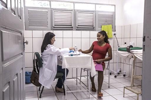 Rodríguez, médica cubana que atende em Santa Rita (MA) e se queixa do acordo com o governo cubano