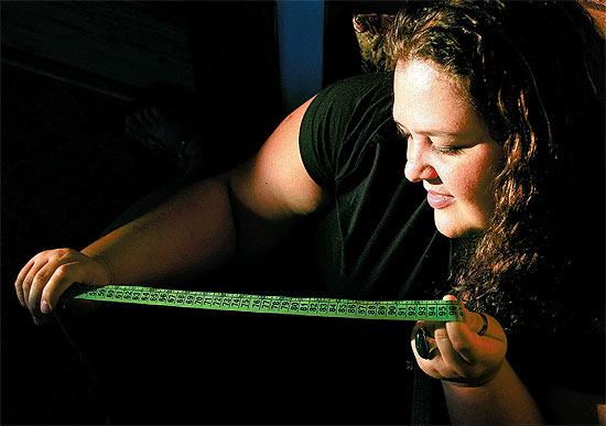 A vendedora Ana Cláudia de Castro, 32, de Ribeirão Preto (SP), que nasceu de cesárea