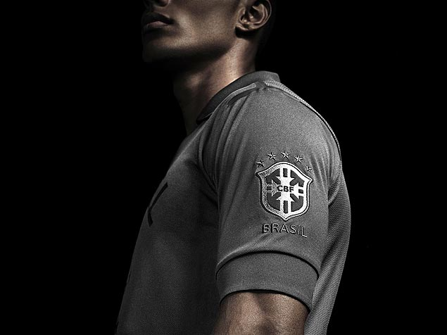 Nova camisa da seleção, cujo lançamento será amanhã