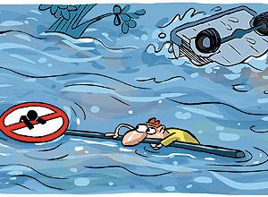 Ilustração que faz parte de cartilha do Inpe lançada na Rio+20