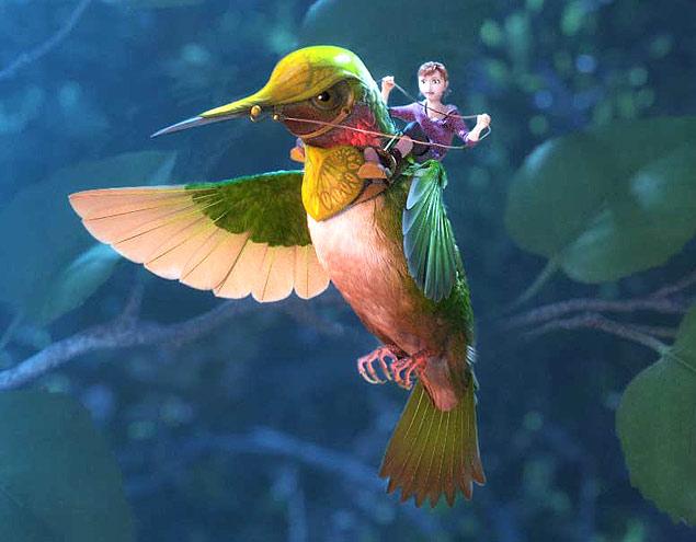 """A versão em 3D do filme """"Reino Escondido"""" está na programação gratuita de cinema"""