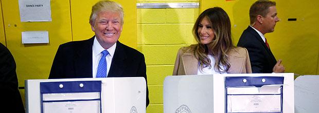16313262 Trump atropela previsões e é eleito o 45º presidente dos Estados Unidos