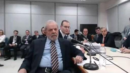 2º depoimento do ex-presidente Lula a Sergio Moro