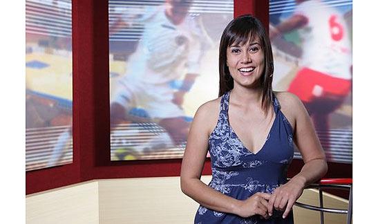 """A jornalista Ana Angélica, participante da décima edição do """"BBB"""", apresentava um programa de esportes em afiliada da Record"""