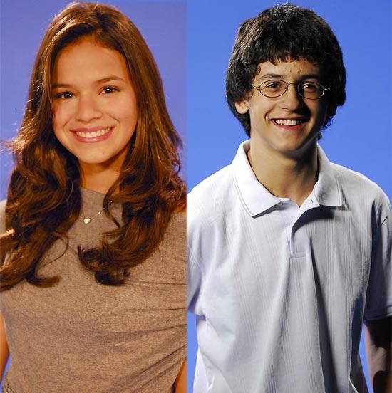Bruna Marquezine e David Lucas, jovens talentos escolhidos para estrelar a nova campanha de 45 anos da Globo