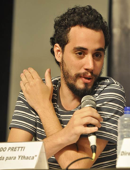 O diretor brasileiro Luiz Pretti