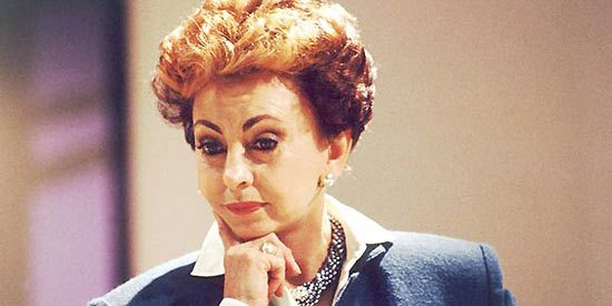 """A atriz Beatriz Segall, que viveu a empresária Odete Roitman na novela """"Vale Tudo"""", que está sendo reprisada no Viva"""