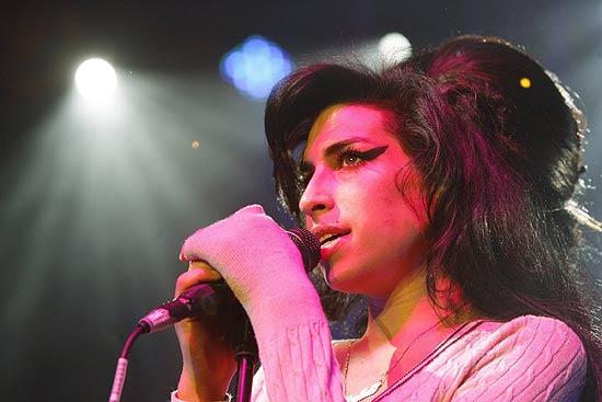 A cantora Amy Winehouse, em foto de 2007