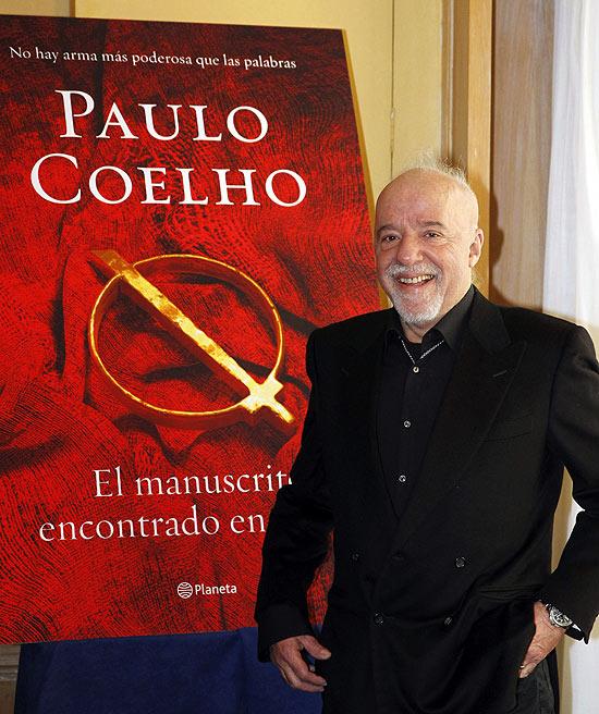 O escritor Paulo Coelho