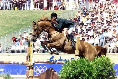 Pessoa e Baloubet, na prova olímpica de Sydney-2000