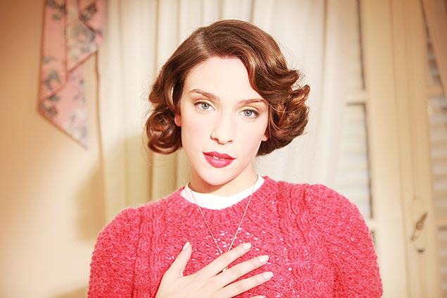 A atriz Andrea Carballo interpreta Mara Teresa no curta 'Nem uma só palavra de amor', do diretor argentino Niño Rodriguez