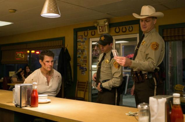 """Tom Cruise em cena do novo """"Jack Reacher"""""""