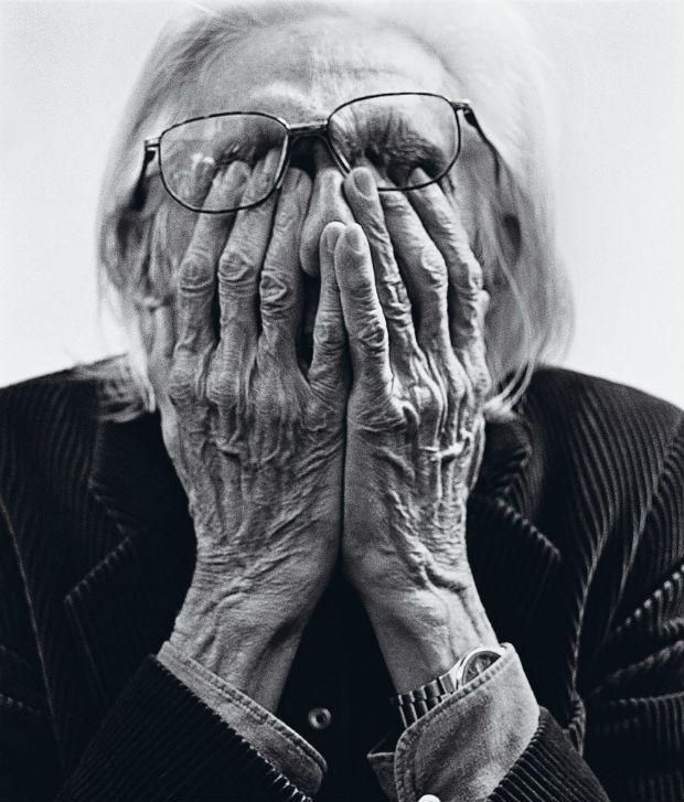 """Retrato de Ferreira Gullar para a capa da revista """"Serafina"""", de 29 de agosto de 2010"""