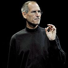 Steve Jobs, durante o lançamento do iPhone 3G; magreza gerou especulações sobre saúde