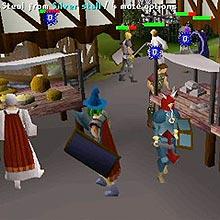 """Tela do jogo on-line """"Runescape"""", que teve contas roubadas por pirata virtual"""