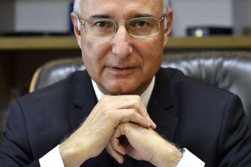 Ives Gandra, Presidente do Tribunal Superior do Trabalho, no seu gabinete, em Brasília