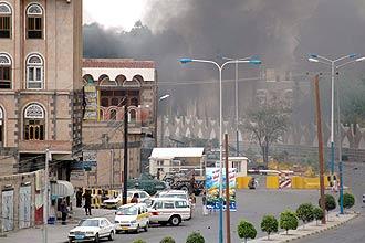 Embaixada dos EUA no Iêmen; foto EFE