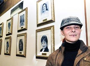 A estudante Cibele Baginski, 23, que tenta refundar a Arena