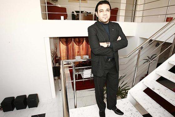 Pastor Marco Feliciano, em sua casa em Orlândia (SP)