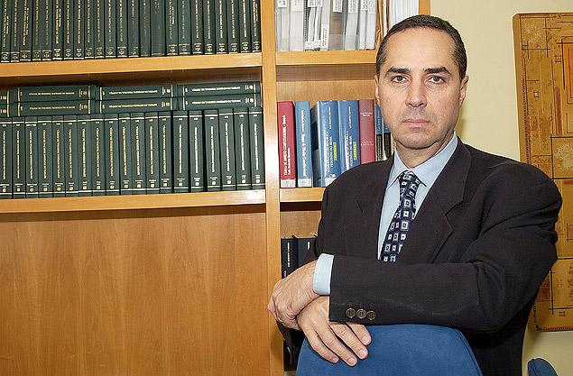 O advogado constitucionalista Luís Roberto Barroso, em seu escritório no centro do Rio