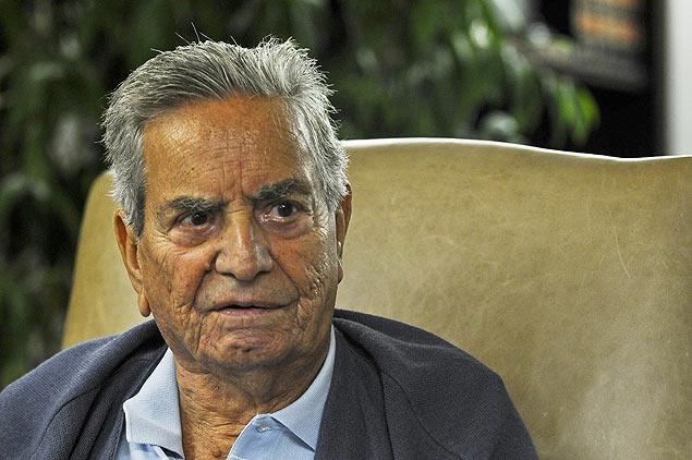 O ex-governador do Rio Marcello Alencar