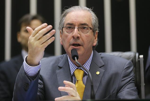 O presidente da Câmara dos Deputados, Eduardo Cunha (PMDB-RJ), citado na lista de investigados no caso Lava Jato