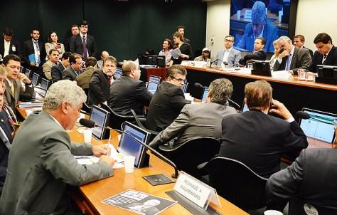 O Conselho de Ética da Câmara, que analisa o processo de cassação contra Eduardo Cunha (PMDB-RJ)