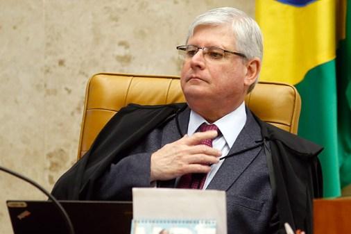 O procurador-geral da República, Rodrigo Janot, em Brasília