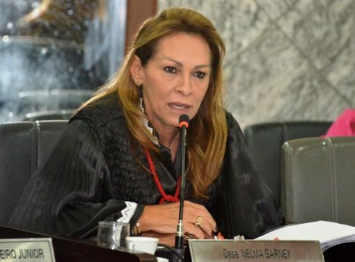 A desembargadora Nelma Sarney, cunhada do ex-presidente, acusada de nepotismo no CNJ